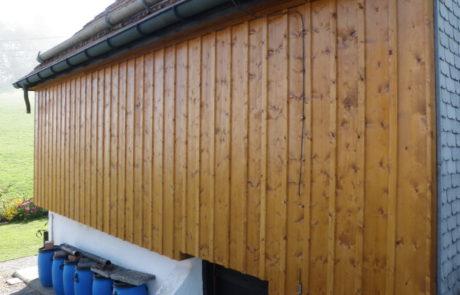 Fassaden - A. Bühler Holzbau GmbH